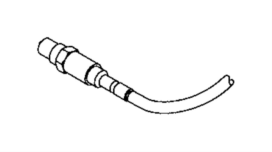 Chrysler 200 Oxygen Sensor (Front, Upper). Oxygen. Sensor