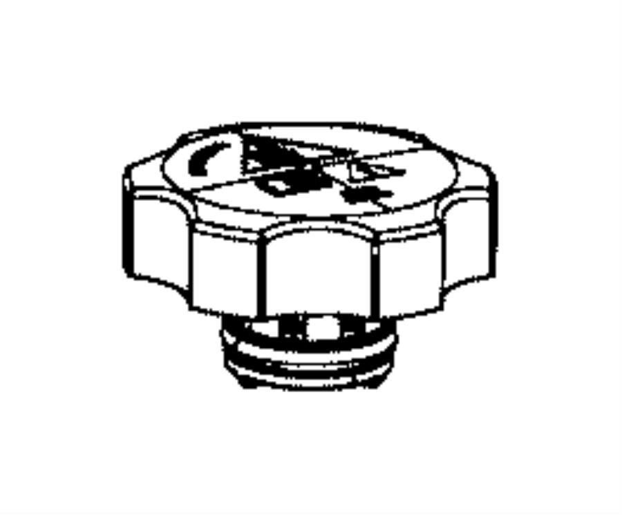 Jeep Grand Cherokee Engine Coolant Overflow Hose. 3.0