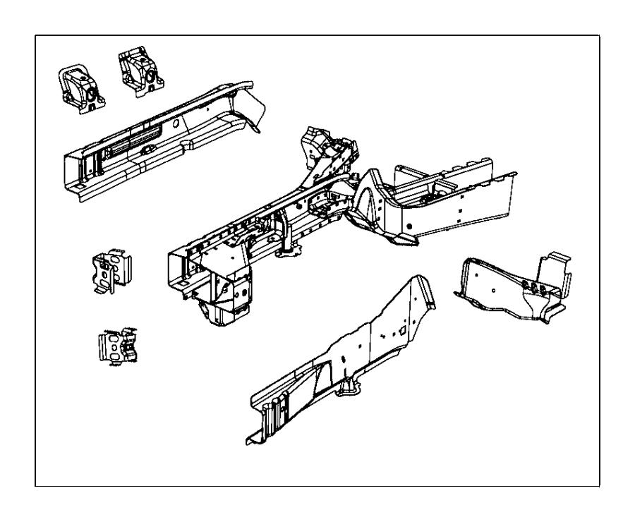 Chrysler Pacifica Engine Mount Bracket. Engine mount, side