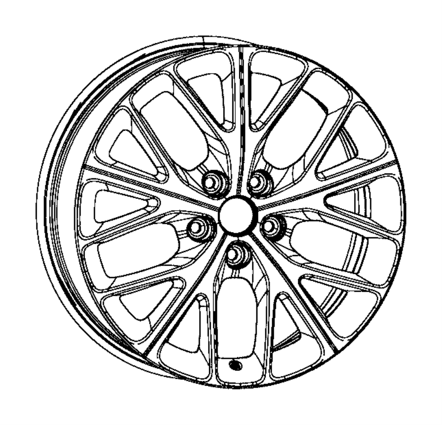 Dodge Durango Wheel. Code, PartQualifier, Notice