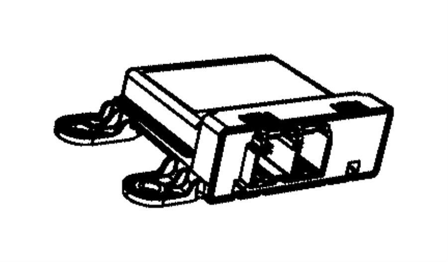 Dodge Durango Parking Aid Control Module. Rear, Assist