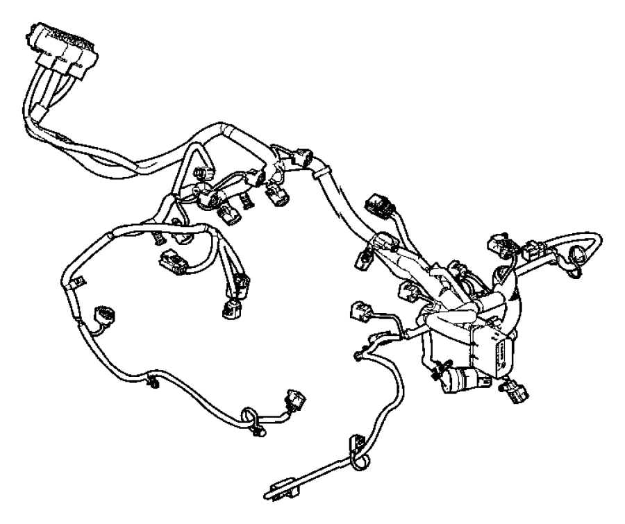 Dodge Durango Engine Wiring Harness. 3.6 liter