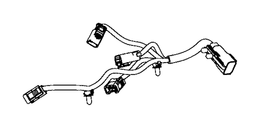 Dodge Charger Engine Wiring Harness. 3.6 LITER. Telematics