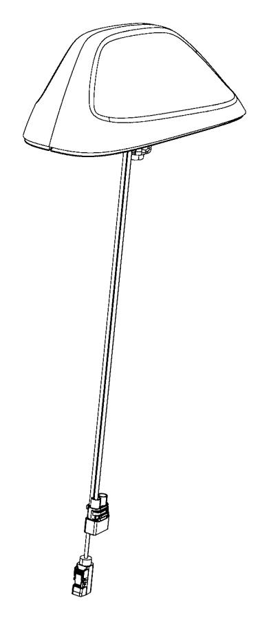 Dodge Durango Radio Antenna Assembly. 2014-20, w/body