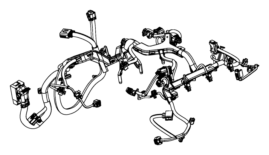 Ram 1500 Engine harness. Engine Wiring Harness. 3.0 liter