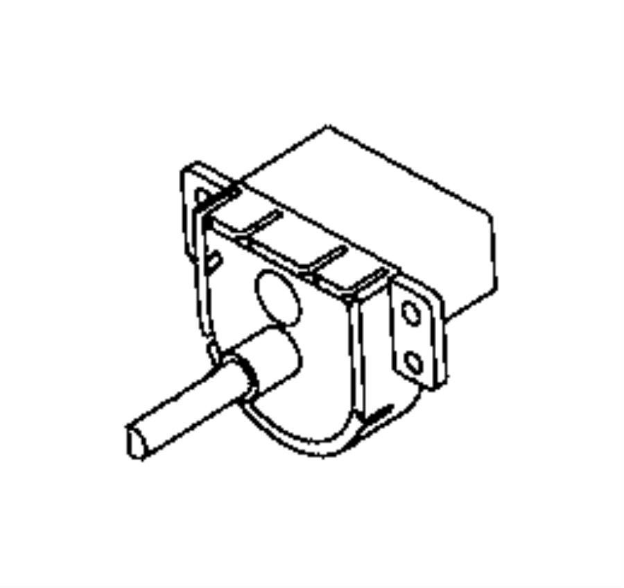Ram ProMaster City Hvac blower control switch. Fan, make
