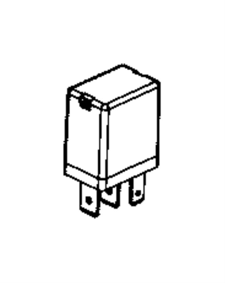 Ram ProMaster City Accessory Power Relay. Micro. Relay box