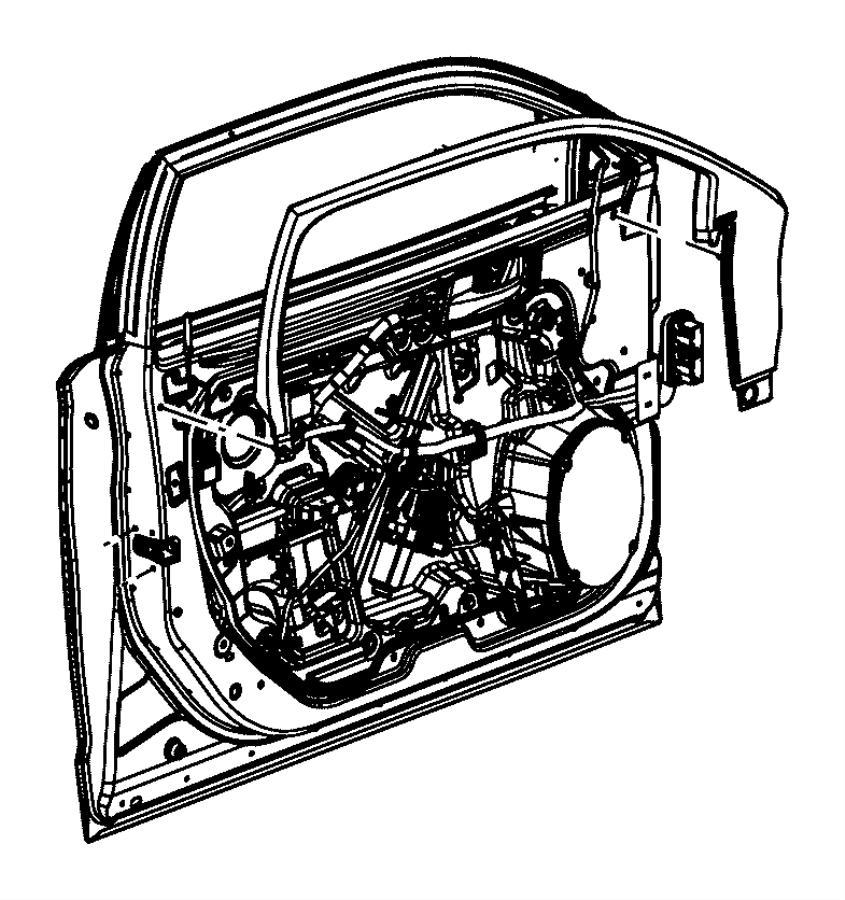 Dodge Charger Door Window Molding. Premium audio