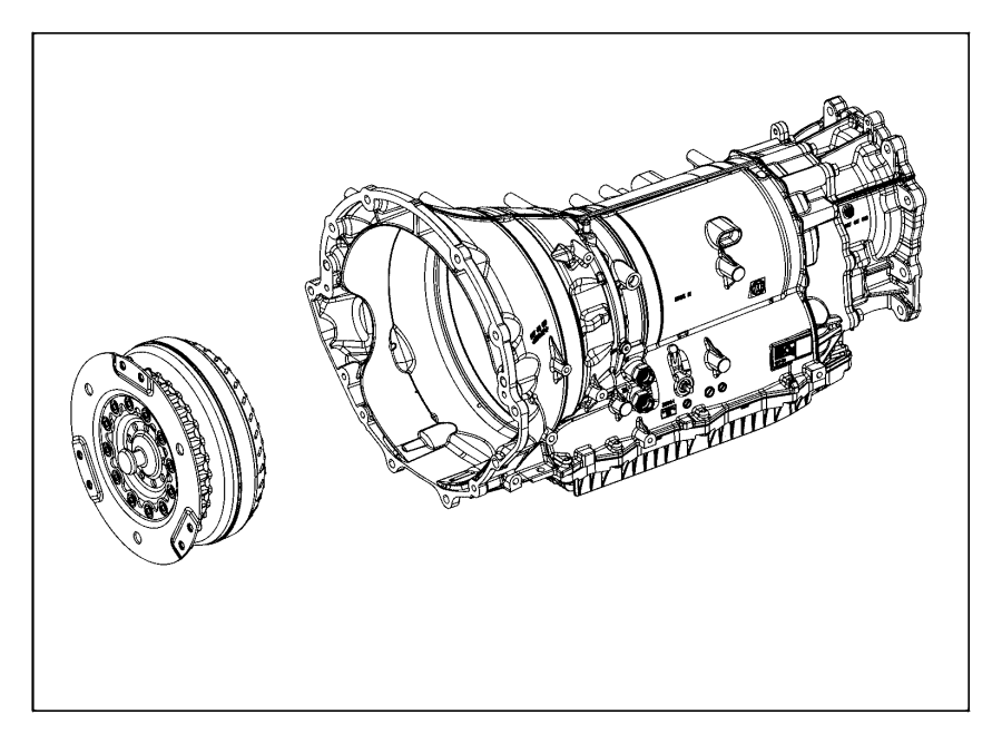 Jeep Grand Cherokee Automatic Transmission Assembly