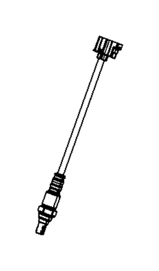 Jeep Grand Cherokee Oxygen Sensor. LITER, EMISSION