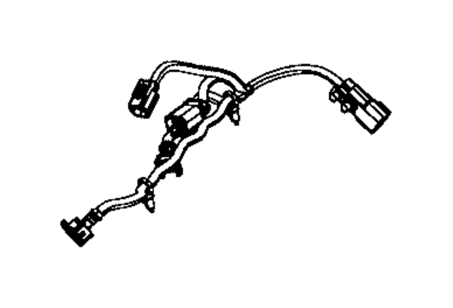 Dodge Charger Engine Wiring Harness. 3.6 LITER