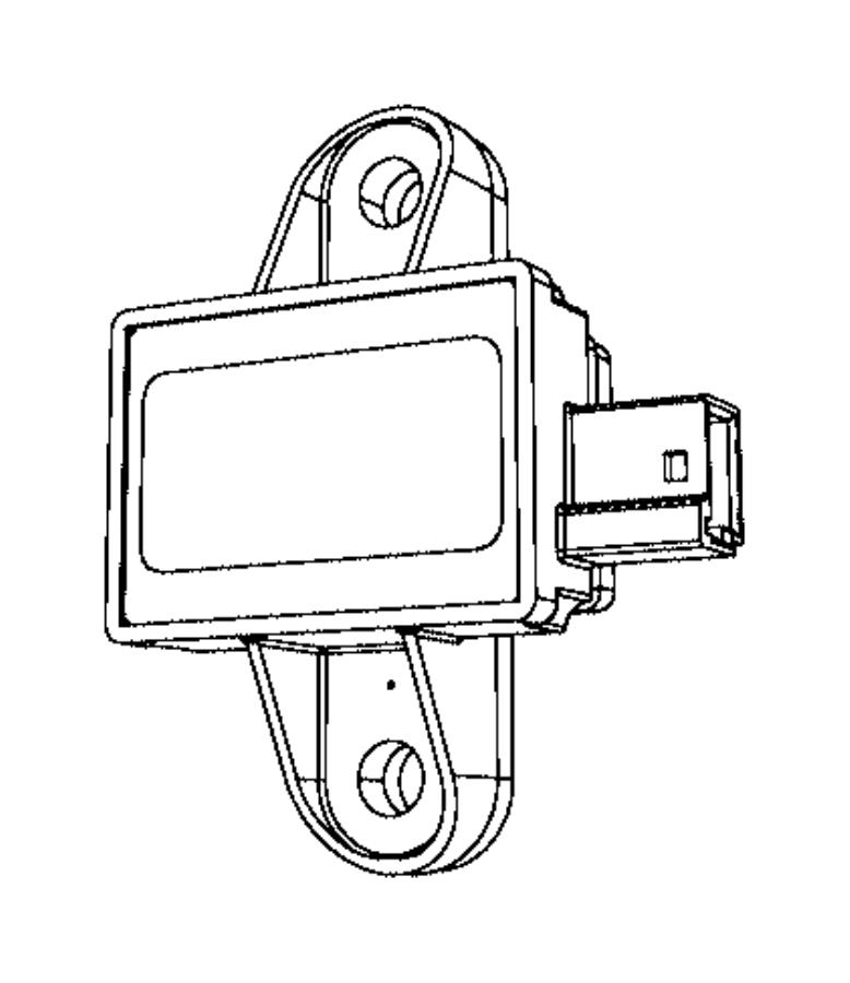 Chrysler Voyager Air Bag Impact Sensor. SENSORS, MODULES