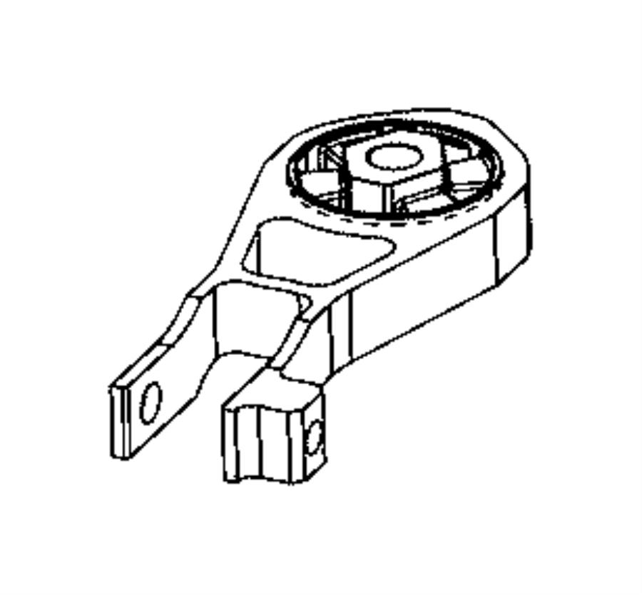 Jeep Compass Engine Torque Strut. Stop, Start, Speed