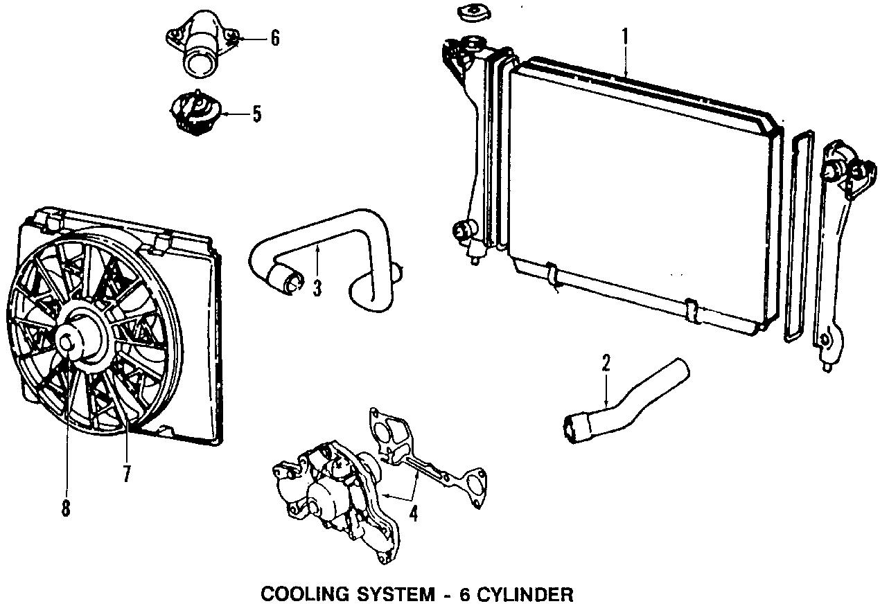 Chrysler LeBaron Fan relay. Models, radiator, cooling