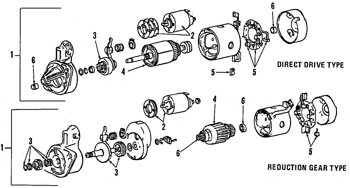 Dodge Colt Bearing. Brg/str. Front. Starter. Models, trans