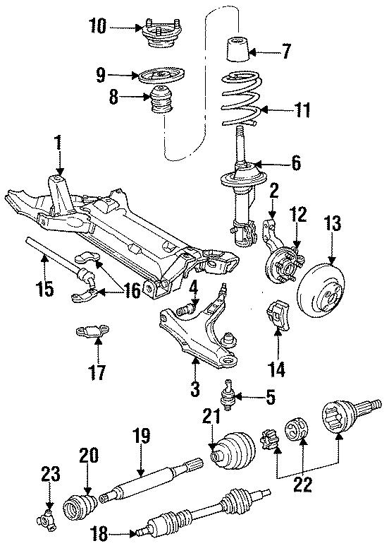 Dodge Omni Coil spring. All models; 4-2.2; manual trans