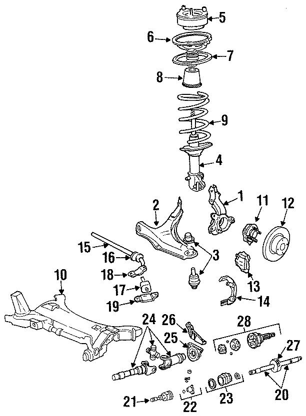 Chrysler LeBaron Bushings. Stabilizer bar bushing