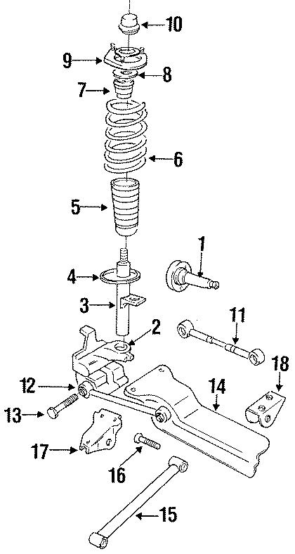 Chrysler LHS Suspension crossmember. All models; sport