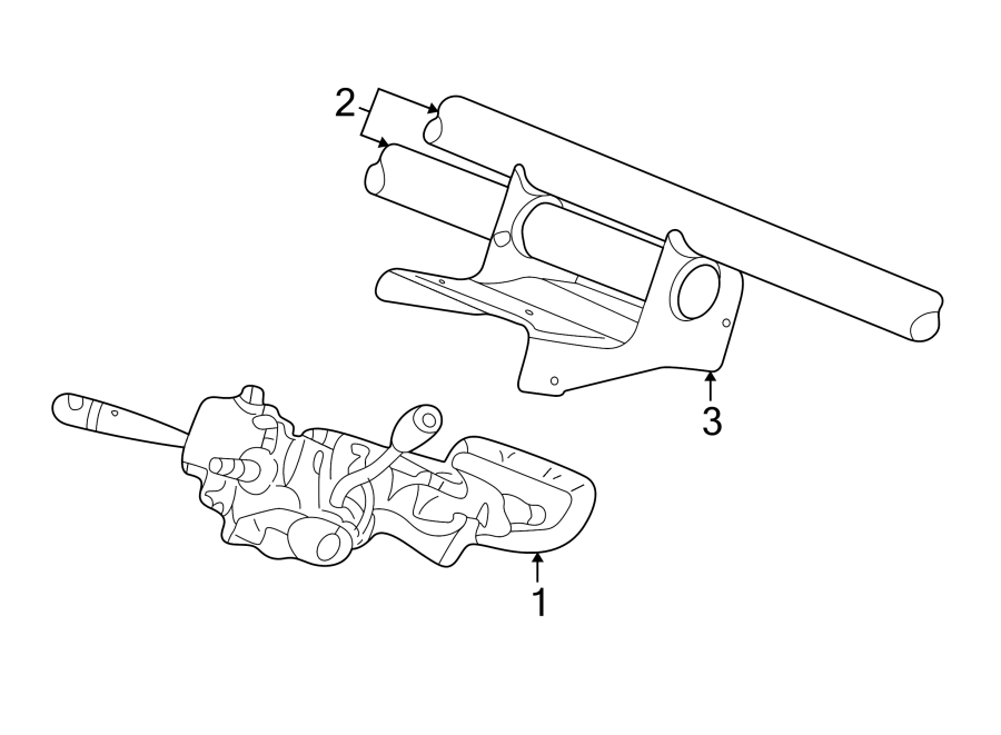Chrysler Concorde Steering Column. Column. Steering