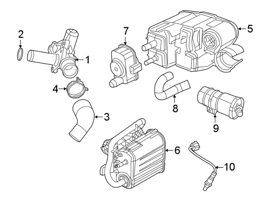 Jeep Grand Cherokee Egr valve. Emission, make, repair