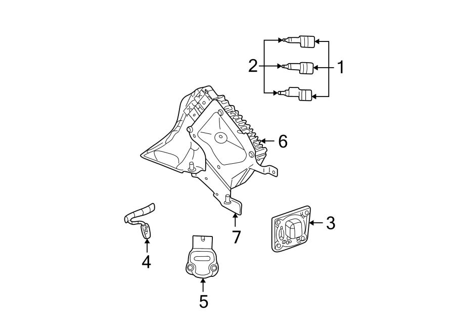 Dodge Stratus Ecm. Engine controller. Module. Manual