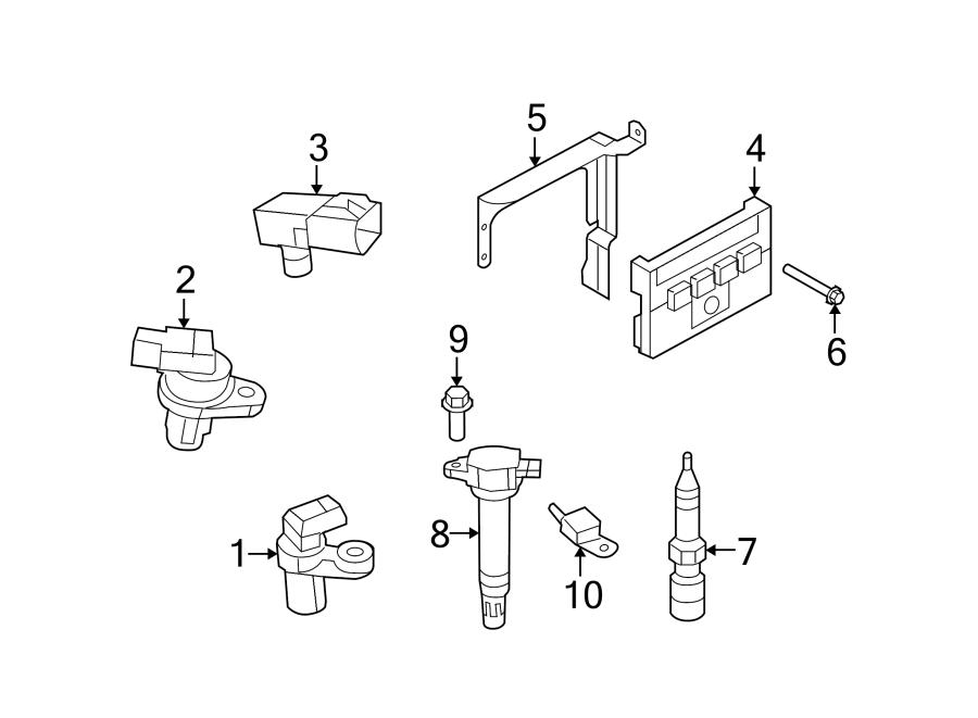 Chrysler Sebring Engine Camshaft Position Sensor. LITER