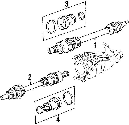 Chrysler Sebring Cv axle assembly. Make, sharp, abs
