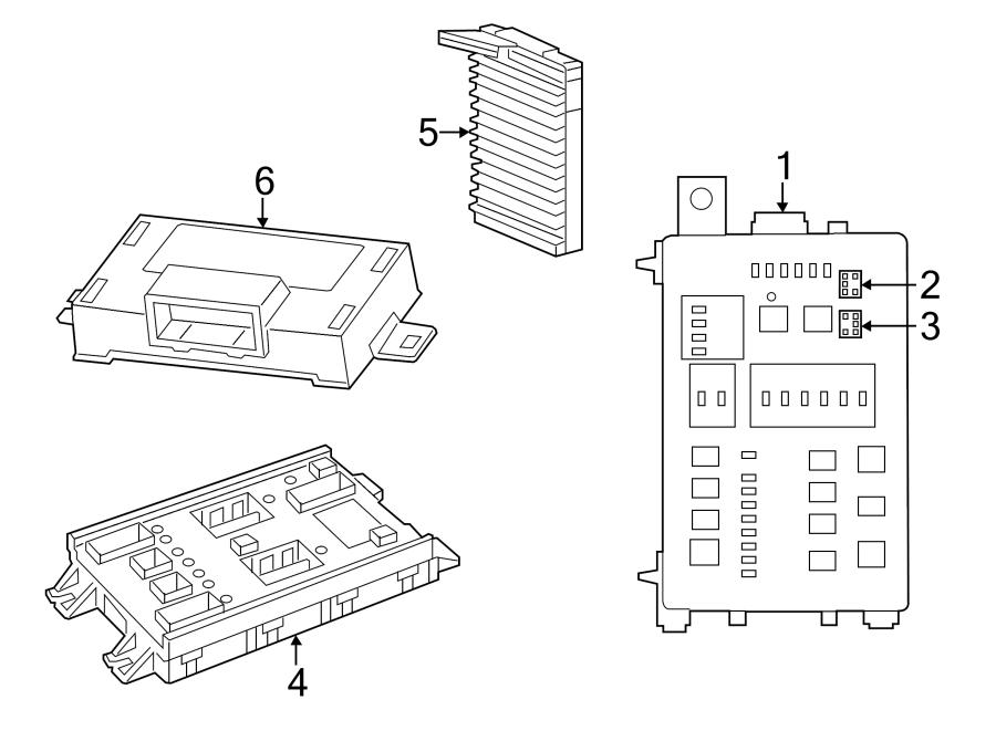 Chrysler 300 Body Control Module. ELECTRICAL, HID