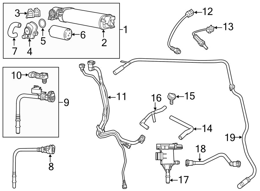 Dodge Charger Vapor Canister. 3.6 LITER, 2014-20. 5.7