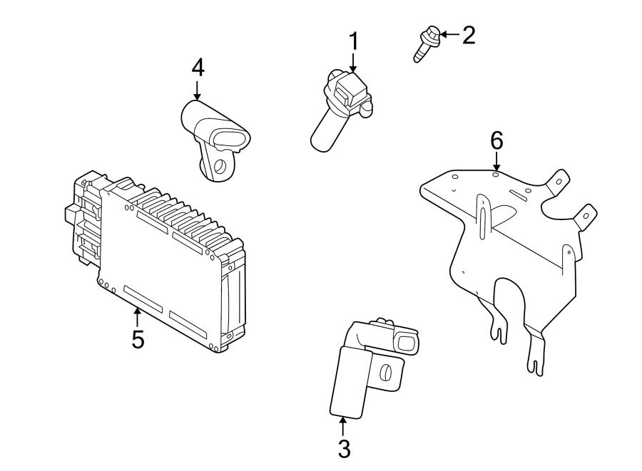 Chrysler 300M Engine Camshaft Position Sensor. Liter