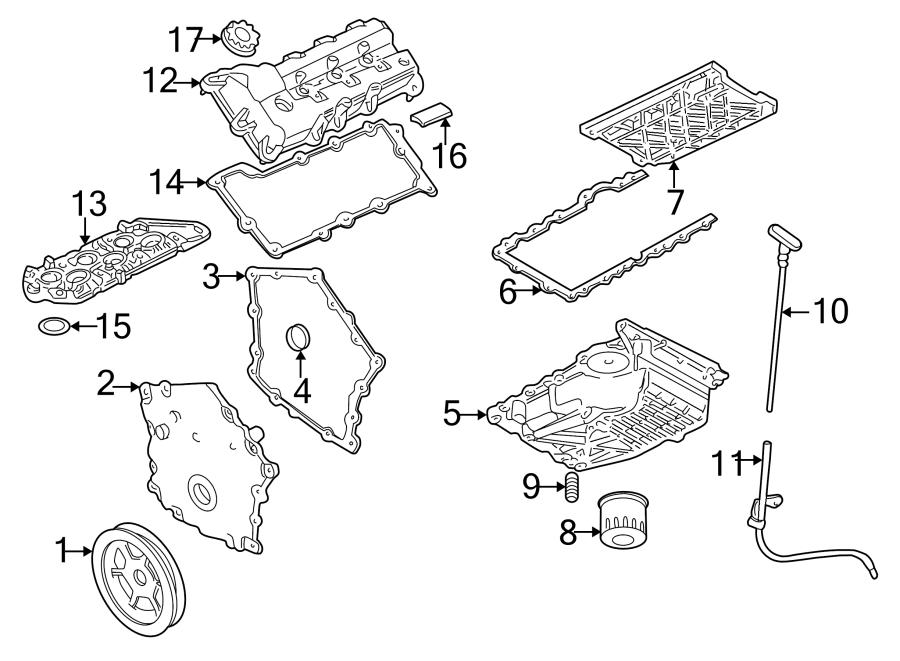 Dodge Intrepid Engine Oil Filter Adapter. LITER, Connector