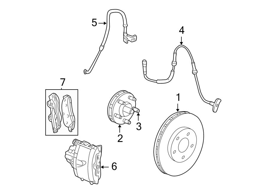 Dodge Neon Abs wheel speed sensor. Right, brake, sedan