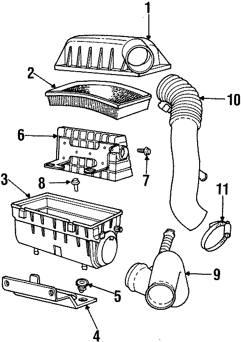 Dodge Neon Lower cover bracket. DOHC, 1995-96. TRANSAXLE