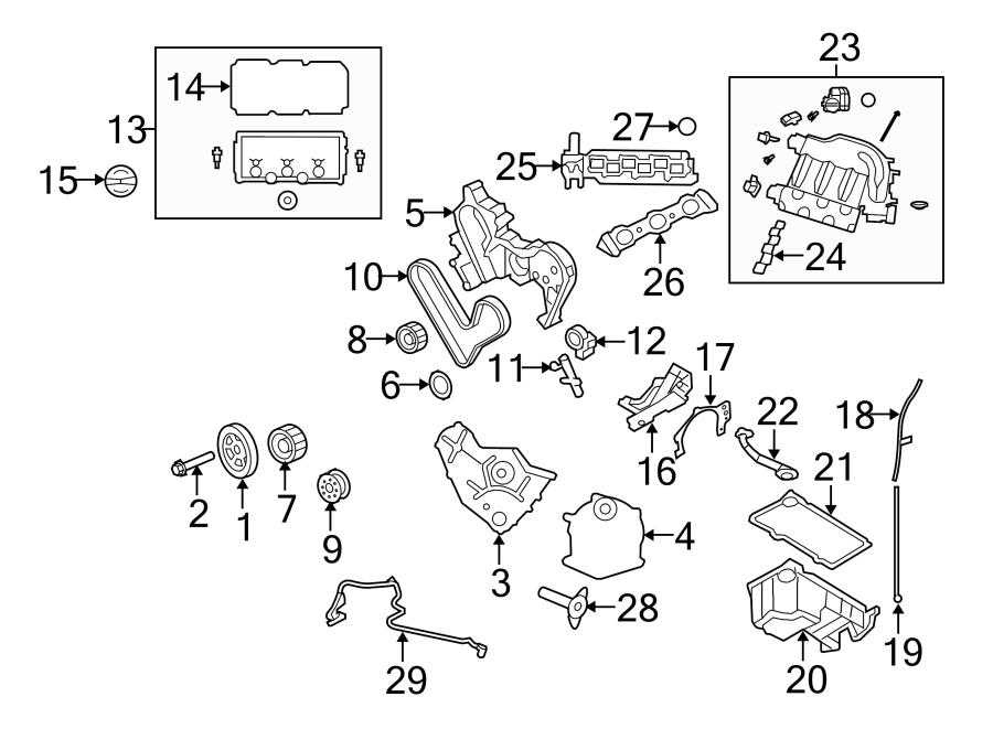 Dodge Intrepid Engine Expansion Plug. 3.5 LITER