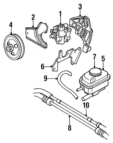 Dodge Stratus Power Steering Reservoir. Power Steering