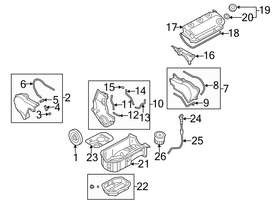 Dodge Stratus Engine Valve Cover Gasket. LITER, Models