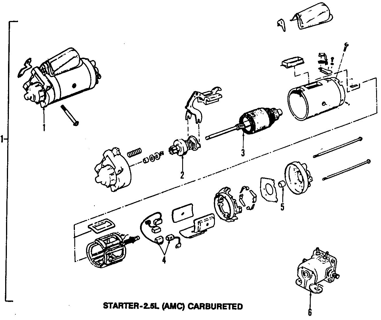 Jeep Wagoneer Starter Solenoid. Relay. Starter Solenoid