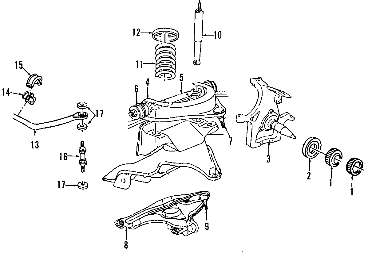 Dodge Ram 1500 Lateral Arm (Front). All Models
