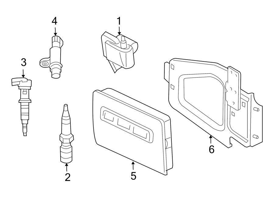 Dodge Dakota Engine Camshaft Position Sensor. LITER