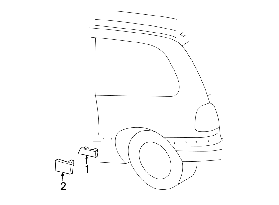 Dodge Caravan Side Body Panel Molding. Caravan SE, Voyager
