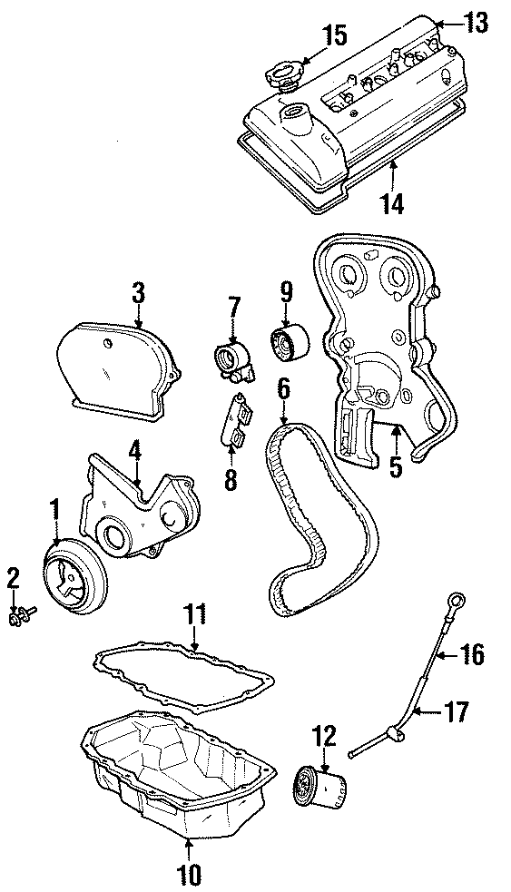 Chrysler Voyager Engine Oil Filter. LITER, CYLINDER
