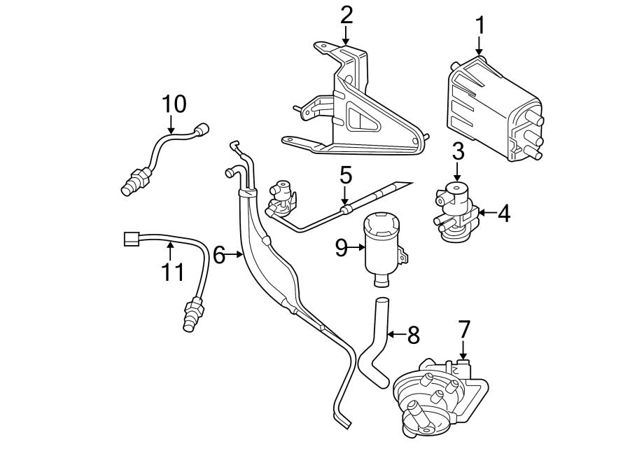 Dodge Dakota Vacuum Line. 3.9, 4.7, 5.2, 5.9 & 3.7 LITER