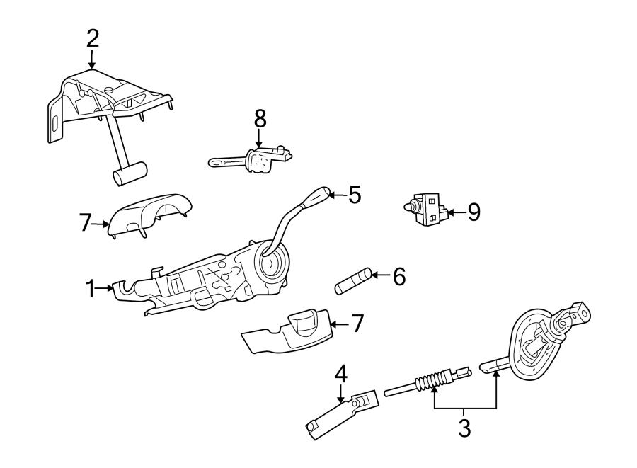 Ram 2500 Shaft. Steering. (Upper). 4WD. Ram 2500; Upper
