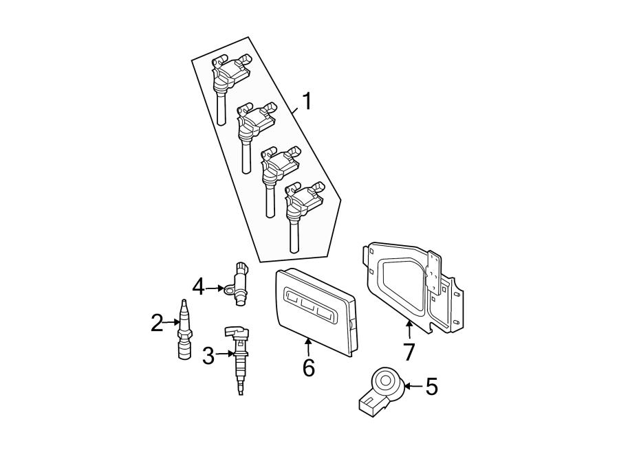 Dodge Ram 1500 Engine Crankshaft Position Sensor. LITER