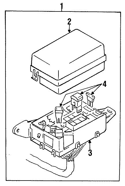 Dodge Colt Fuse. LINK. COMPONENTS ON INNER STRUCTURE, 20