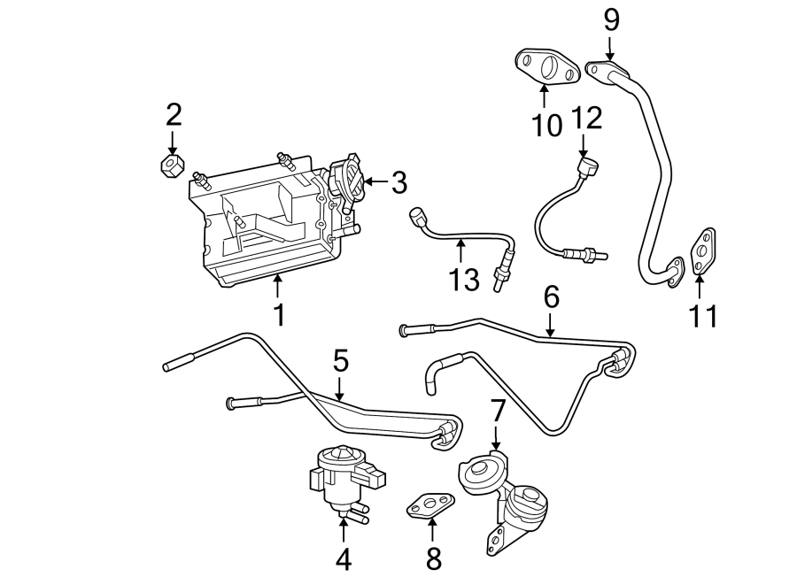 Jeep Grand Cherokee Egr valve. Liter, emission, repair