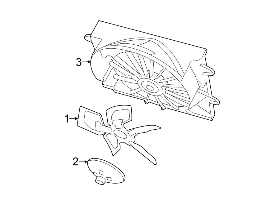 Jeep Grand Cherokee Engine Cooling Fan Clutch Blade