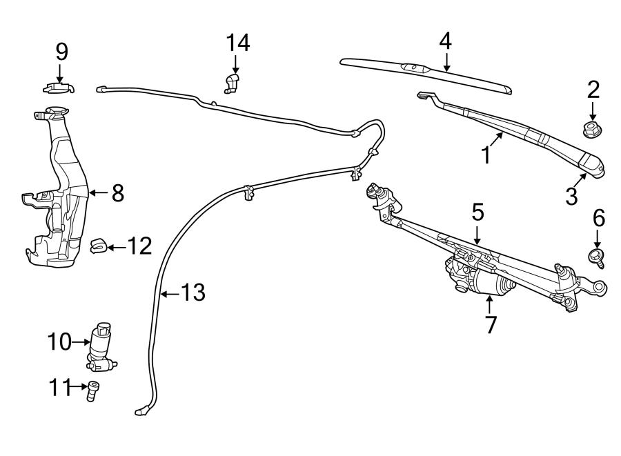Jeep Grand Cherokee Windshield Washer Pump Grommet