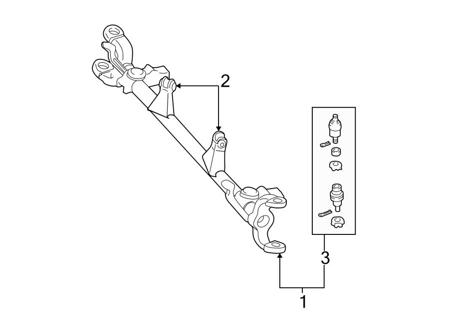 Jeep Grand Cherokee Bushing. CONTROL. Arm. (Upper, Lower