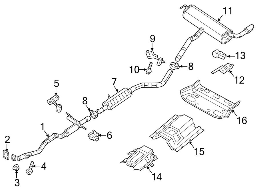 Jeep Cherokee Catalytic Converter. 2.4 LITER, FWD, w/pzev